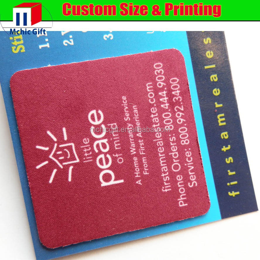 2015 new product thin sticky mouse pad factory