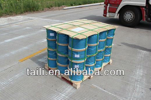 ungalvanized steel wire rope with layer strand grease