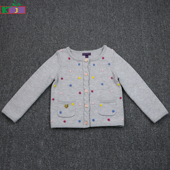 2e1a9c31a Wholesale New 2018 Baby Girls Cardigan Sweater Design With Handmade ...