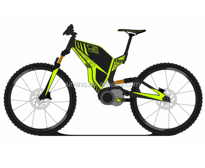 Bafang Ultra mid drive 48V 1000W full suspension electric mountain <strong>bike</strong> (e MTB)/electric <strong>bike</strong> 2017 Enduro electric <strong>bike</strong>.