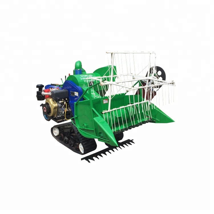 Low Price Small Rice Harvest Machine/hot sale new small mini rice wheat combine harvester/Professional rice reaper