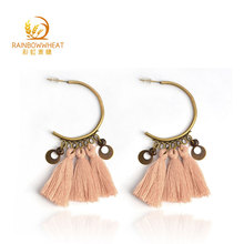 Cheap bohemian pretty elegant boho tassel earrings for party