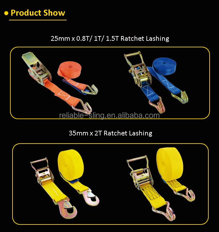 Light Duty Soft Polyester Cam Locking Buckle Strap for Packing