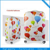 High quality custom printed luggage/cartoon luggage/vip trolley bag