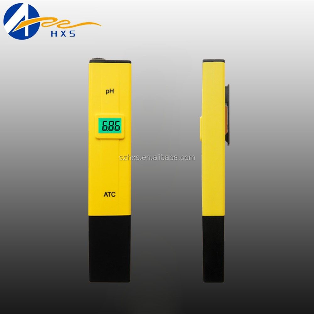 portable backlight ATC pen type PH meter with simple Measurement