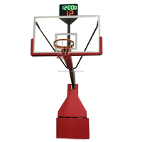 New style Electric Hydraulic movable basketball stand