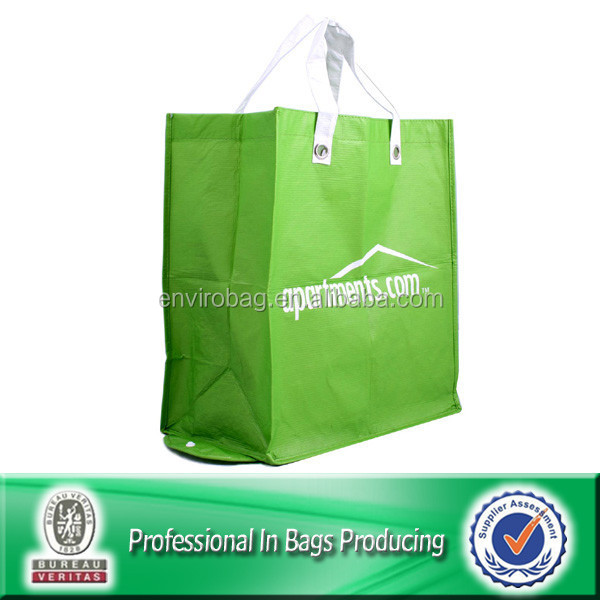 Lead Free Recycled Bottle RPET Foldable Bag