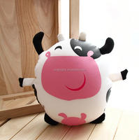 cow fashion wholesale stuffed soft milka cow plush toy Cute cheap baby toy plush
