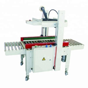 Automatic Adhesive Durable automatic flaps fold carton sealing machine model FX-50