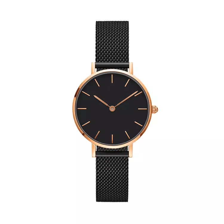 Hot Selling New Design Rose Gold Watch Women Watch, Japan Movement Stylish Women Watch For Sale