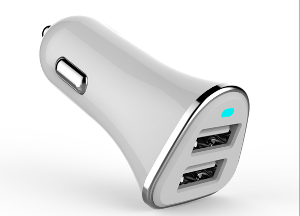 electric type popular mobile phone tablet smart car charger 3.4A fast charging with cheap price