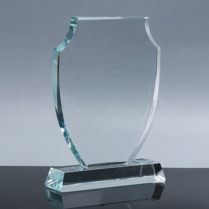 Custom Blank Crystal Trophy Award For Your Own Logo