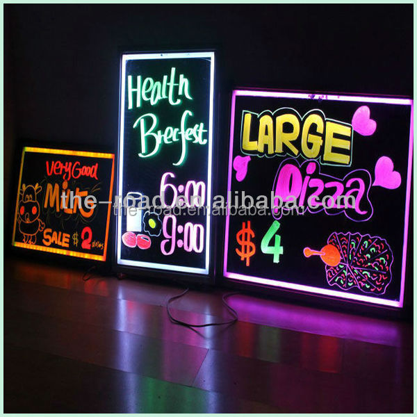 Innovative new product sidewalk signs led writing menu message board