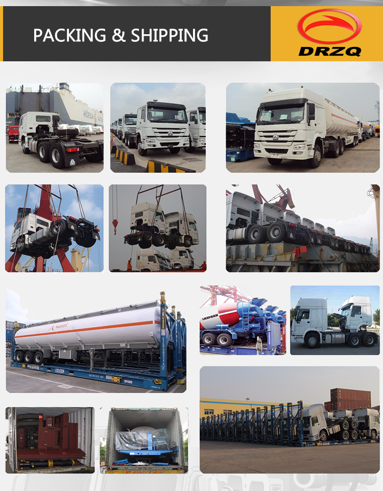 CDW 4*2 4*4 bucket crane truck used crane truck for sale