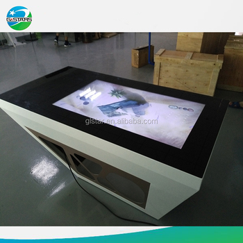 Interactive HD 42u0026quot; Touch Screen Tea Table Interactive Touch Screen Coffee  Table