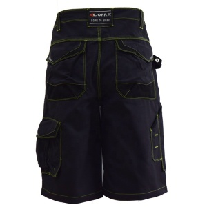 Construction Safety Mens Casual Cotton Baggy Shorts