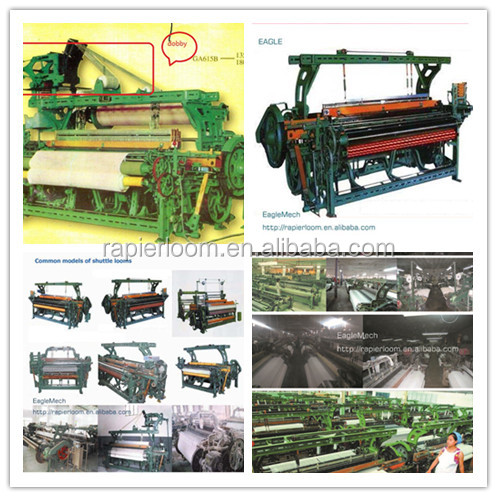 automatic shuttle changed power loom