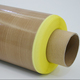 0.13*19mm*10m Customized High temperature resistant Ptfe Adhesive Tape With Fiberglass Fabric