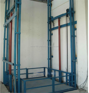 2018 New hot sale 3ton warehouse goods lift hydraulic cargo lift price