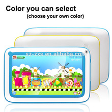 Lastest Cheap tablet in high quality 7 inch mini laptop WIFI netbook for children ,kids learning tablet pc Android 4.4 OS TP-S