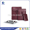 Newest style fashionable pu leather mobile phone bag with flap