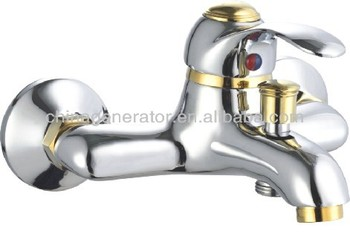 Charming Gold Plated Bathroom Faucet/washing Hair Salon Faucet/salon Sink Faucet