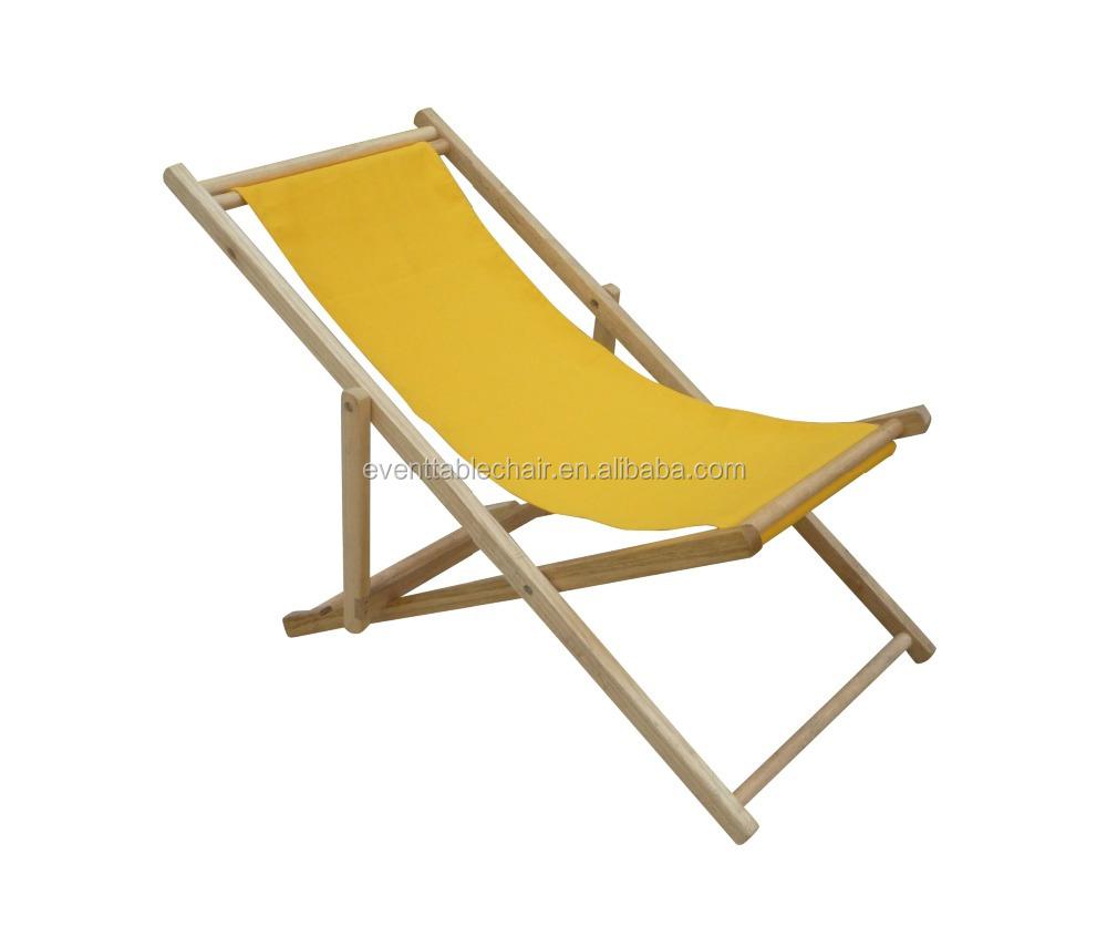 utilizan sillas de playa plegable de madera barata para la venta