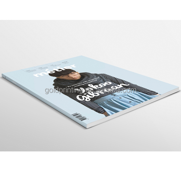 softcover magazine with quality full color printing