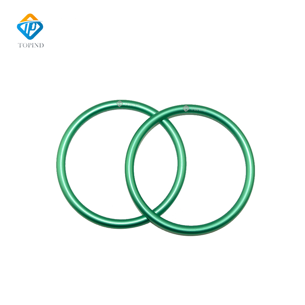 Topind 2.5 Large Size Alumnium Baby Sling Rings for Baby Carriers /& Slings of 2 pcs Green
