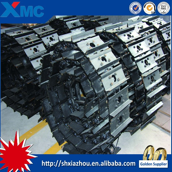 OEM excavator steel and rubber track /track shoe /track pad