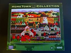 Hometown Collection 1000 Mega Puzzle: Solvang