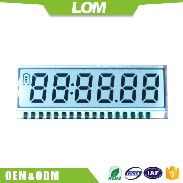 Custom alphanumeric lcd display module