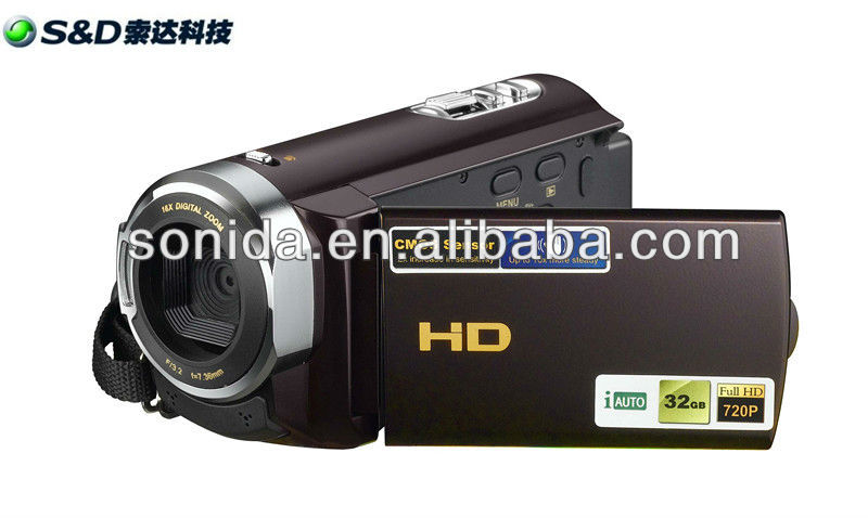 new design dvc digital camcorder for 2013 with 2.7inch,16Mp,1080P and 16*zoom
