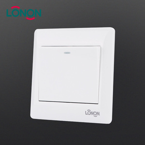 Professional customization power 1 gang 2 way electrical wall switch
