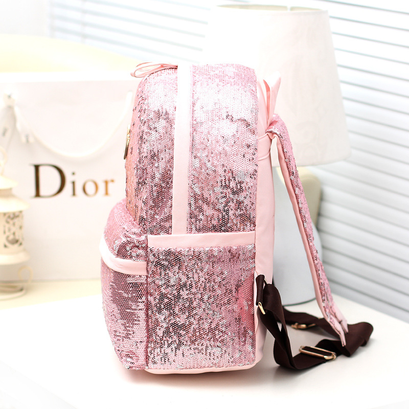 Sequins Backpacks Woman Best Selling Backpack