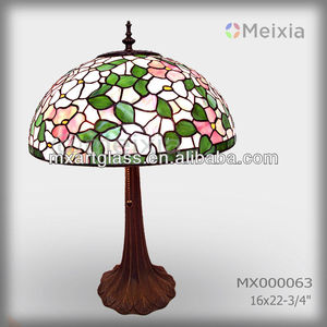 MX000063 tiffany style stained glass lamps shades for home decoration vetrate tiffany designs