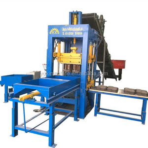 Professional Color Feeding Cement Paving Brick Making Machine/Hydraulic Concrete Paver Block Machinery Price For Sale