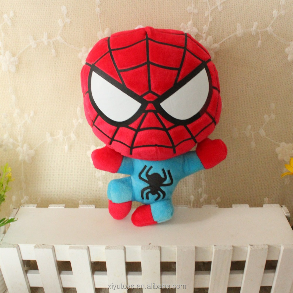 unstuffed plush spider-man animals skin plush toy unstuffing