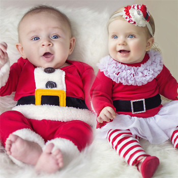Factory supply OEM high quality Christmas clothes baby christmas outfits for baby