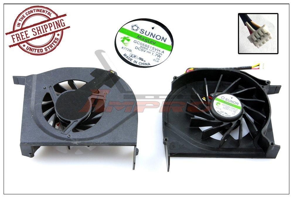 New Laptop Notebook Cooling fan cooler HP Compaq Presario V6000 V6100 V6200 V6300 F500 F700 V6400 V6500 V6700 V6800 Series DC05V 1.7W || GC055515VH-A B2606.13.V1.F.GN 434746-001 DFS531205M30T