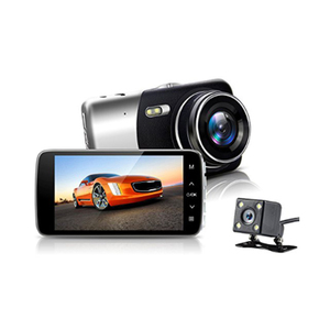 Newest 4 inch Car DVR Dual Lens Video Recorder Parking monitor Car Camera WDR DashCam Night Vision Auto Black Box