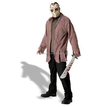 outlet bene comprare on line Jason Voorhees Venerdì Il 13th Film Horror Di Halloween Per Adulti Del  Vestito Operato Costumi Qamc-2519 - Buy Costume,Vestito Operato,Costumi Di  ...