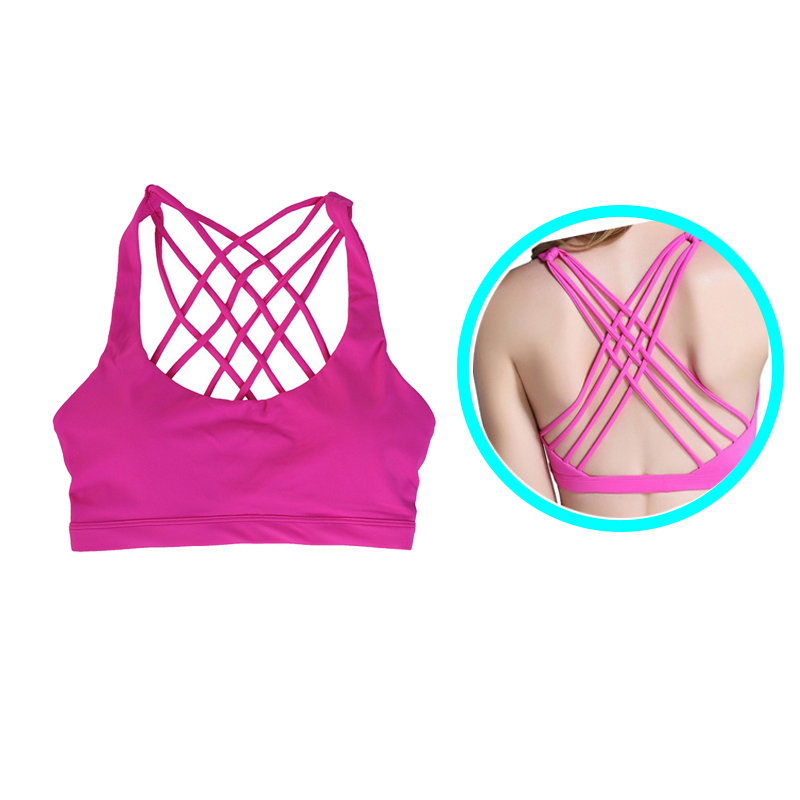 2018 Fitness Wear Sports Top Ladies Sports Bra
