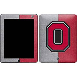 Ohio State University iPad Skin - OSU Ohio State Buckeyes Split Vinyl Decal Skin For Your iPad
