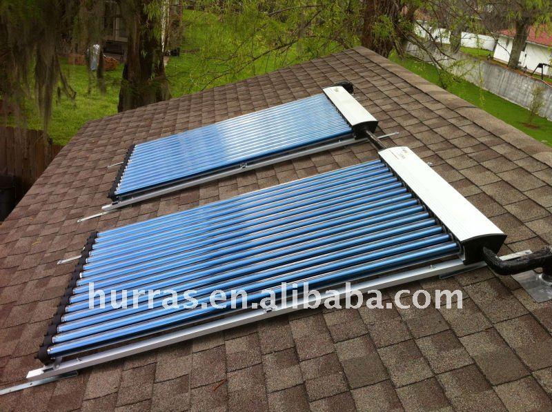 caloduc tout en verre vide horizontale tube capteur solaire pour piscine capteur solaire id de. Black Bedroom Furniture Sets. Home Design Ideas