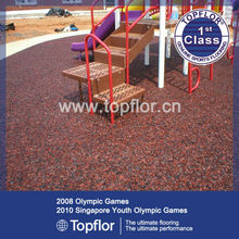 Sponge Rubber Mats For Outdoor Rubber Sports Deck Surface