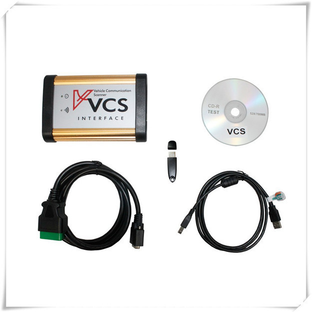 Good Quality Multi-language VCS Interface Vehicle Communication Scanner VCS Car OBD2 Diagnostic tool Better than TCS CDP