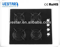 best price kitchen appliance 4 burners gas hobs / rice husk stove