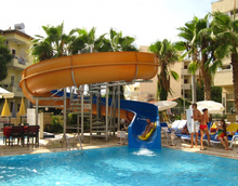Water Slide Used Private Swimming Pool