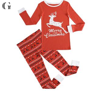 Christmas Pajamas.Kids Clothes Wholesale Christmas Pajamas
